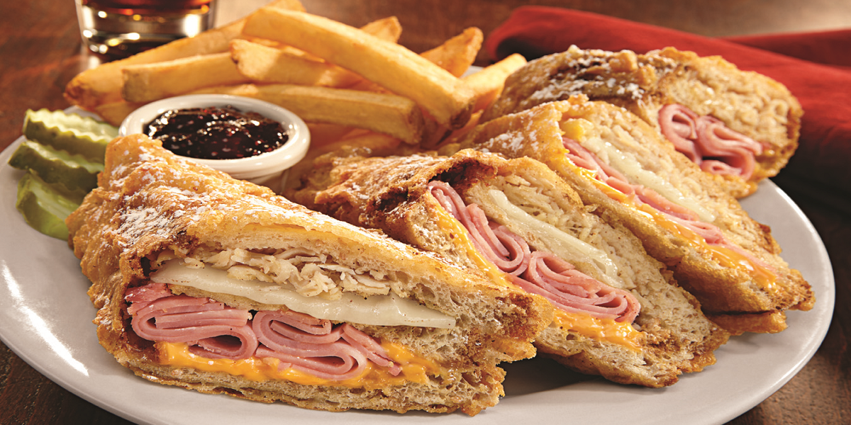 World Famous Monte Cristo Sandwich
